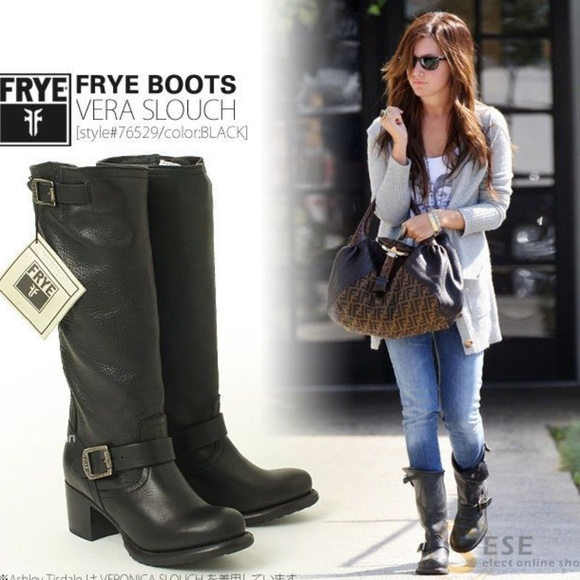 Frye Shoes | Vera Slouch Knee High Boot